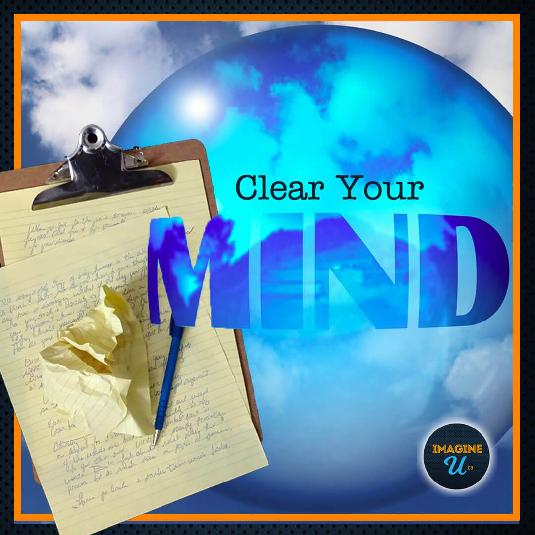 Write to Clear Your Mind